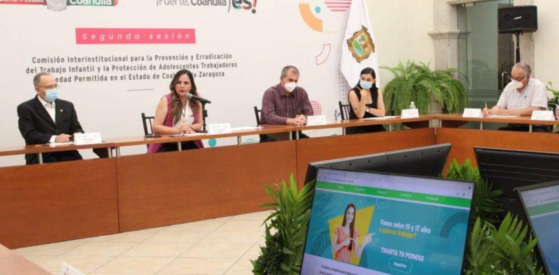 """Lanza Gobierno del Estado  la página web """"Coahuila sin trabajo infantil"""""""