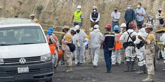 Sacan restos del quinto minero, todos perdieron la vida