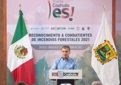Reconoce Gobierno de Coahuila a combatientes de incendios forestales