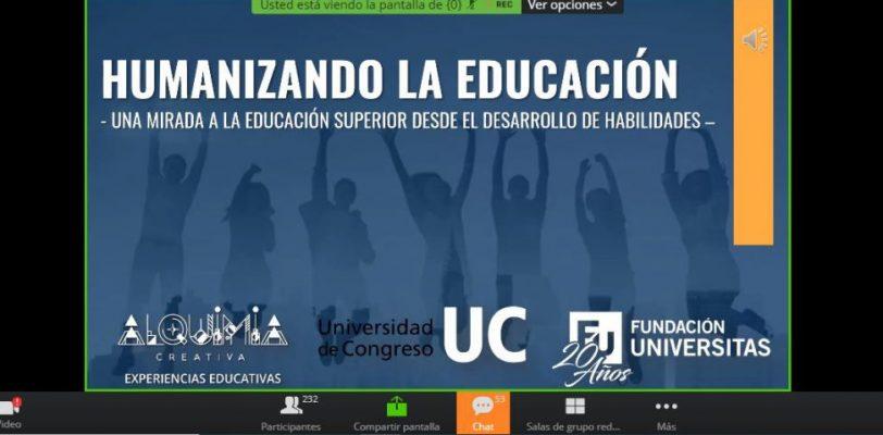 Imparten en UAdeC el tema humanizando a la educación virtual, una mirada a la educación superior desde el desarrollo de habilidades