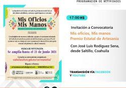 Cultura Coahuila mantiene en línea distintos eventos