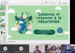 Intercambia UAdeC experiencias en materia ambiental con la Universidad Estatal a Distancia de Costa Rica (UNED)