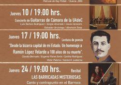 """Disfruta en UAdeC """"Los Jueves de Cultura en el Recinto"""""""