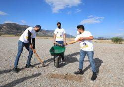 Inician brigadas de limpieza de Lobos al Rescate para la revegetación en Ciudad Universitaria de la UAdeC