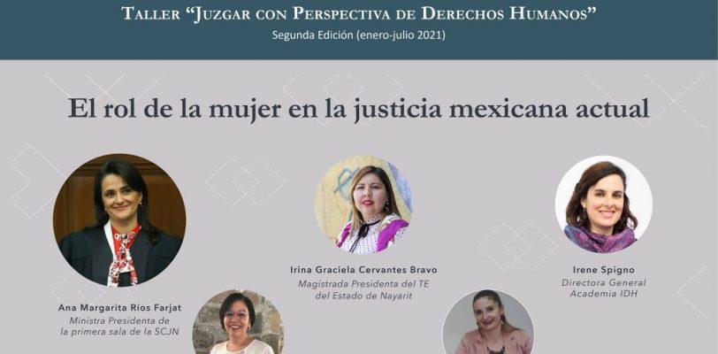 """Invita AIDH al seminario """"El rol de la mujer en la justicia mexicana actual"""""""