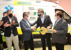Dona Agencia de la ONU para refugiados ambulancia e insumos a sector Salud de Coahuila