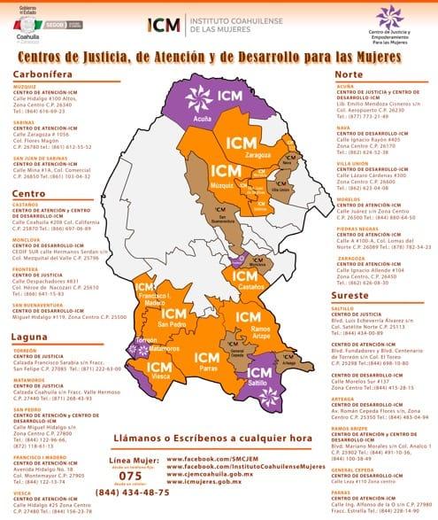 El Centro de Atención Especializada brinda atención a mujeres en la Región Carbonífera de Coahuila