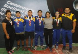 Destacan estudiantes de la UAdeC en el primer día del Campeonato Nacional Universitario de Levantamiento de Pesas 2021