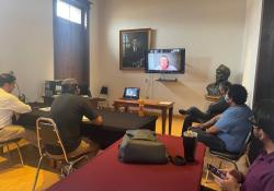 Reciben capacitación sanitaría encargados de la Feria Internacional del Libro de Coahuila 2021