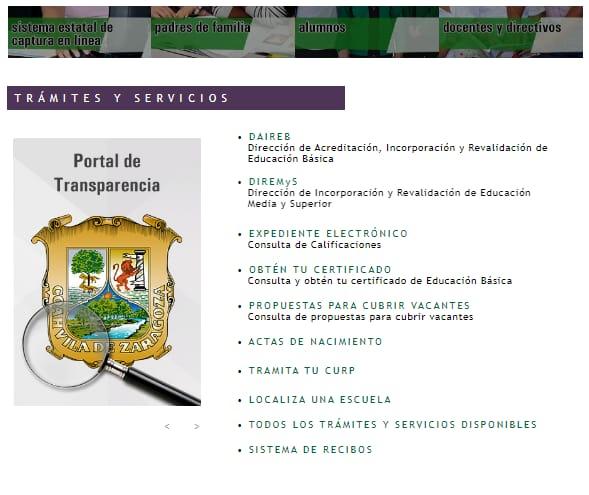 Ya se pueden consultar las calificaciones en Coahuila