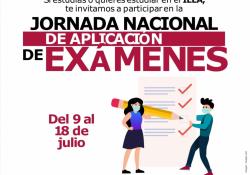 Jornada nacional de aplicación de exámenes del Instituto Estatal de Educación para Adultos de Coahuila