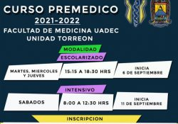 Prepárate con el Curso Premédico que ofrece la Facultad de Medicina UAdeC Unidad Torreón