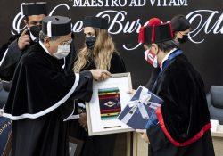 """Otorga Facultad de Jurisprudencia de la UAdeC el grado """"Maestro Ad Vitam"""" al Dr. Álvaro Burgos Mata"""