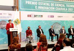 Otorgan Premio Estatal de Ciencia, Tecnología e Innovación Coahuila 2021 a Investigadora de la UAdeC