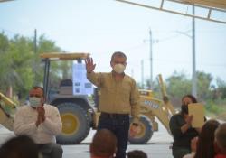 Cumple MARS a Juárez y Progreso en infraestructura urbana, hidráulica y sanitaria