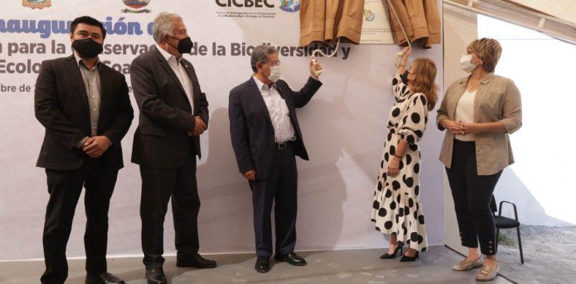 Inauguran en Cuatro Ciénegas el Centro de Investigación y Conservación de la Biodiversidad y Ecología de Coahuila CICBEC