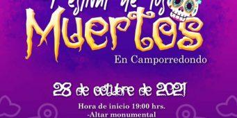 Invita UAdeC al festival de los muertos 2021 #ViveNuestrasTradiciones