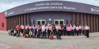 Visita la ONU Centro de Justicia y Empoderamiento para las Mujeres de Coahuila